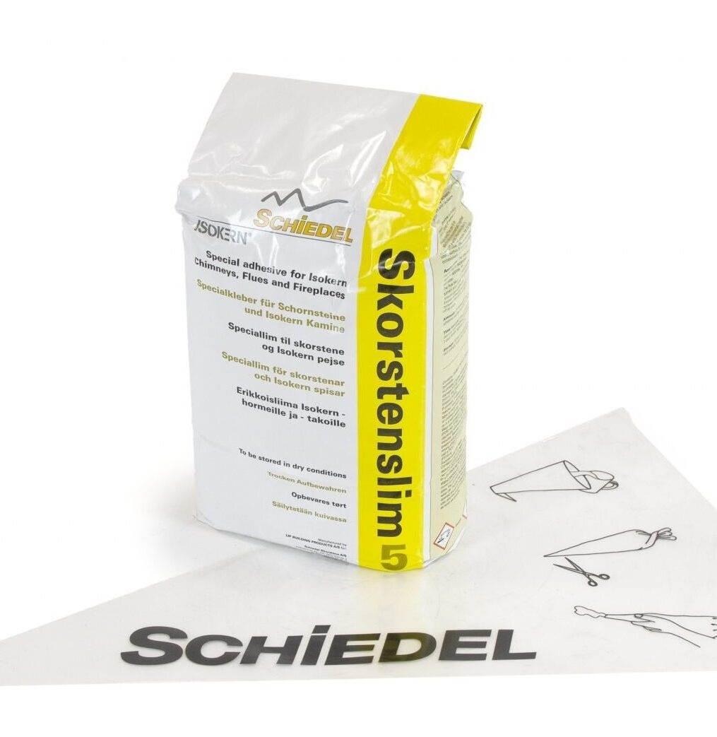 Isokern Lip Glue Adhesive - 5kg Bag