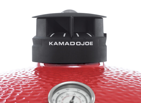 """Kamado Joe - Big Joe 3 - The Kamado Joe Big Joe III 24"""" ceramic charcoal grill is perfect for entertaining a crowd. Similar design to the Classic III kamado ceramic grill, the Big Joe III comes standard with the revolutionary SlōRoller Hyperbolic Smoke Chamber for perfect low-and-slow cooks & the 3-Tier Divide & Conquer® Flexible Cooking System allowing you to cook foods at different temperatures. PRE-ORDER TODAY FOR JULY DELIVERY"""