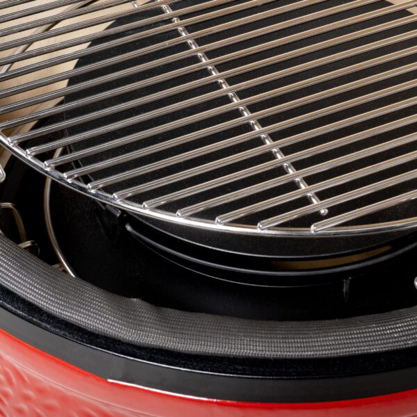 Kamado Joe - Classic 2 Stand-Alone - Want a more expansive grilling setup? Choose the Kamado Joe Stand-Alone, which can be installed in your custom outdoor kitchen or paired with one of our signature grilling tables. Available as a Classic or Big Joe, the Kamado joe Classic Stand-Alone offers the same thoughtful craftsmanship that put Kamado Joe on the map, plus upgraded stainless steel top vent, handles, bands and hinge. Durable and versatile, the Stand-Alone will fit in beautifully with any permanent setup you have in mind.