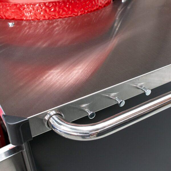 Kamado Joe in Stainless steel table
