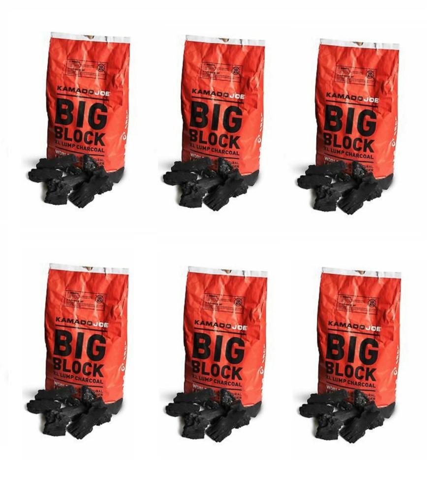 Kamado Joe Charcoal - 6 Bag Bundle